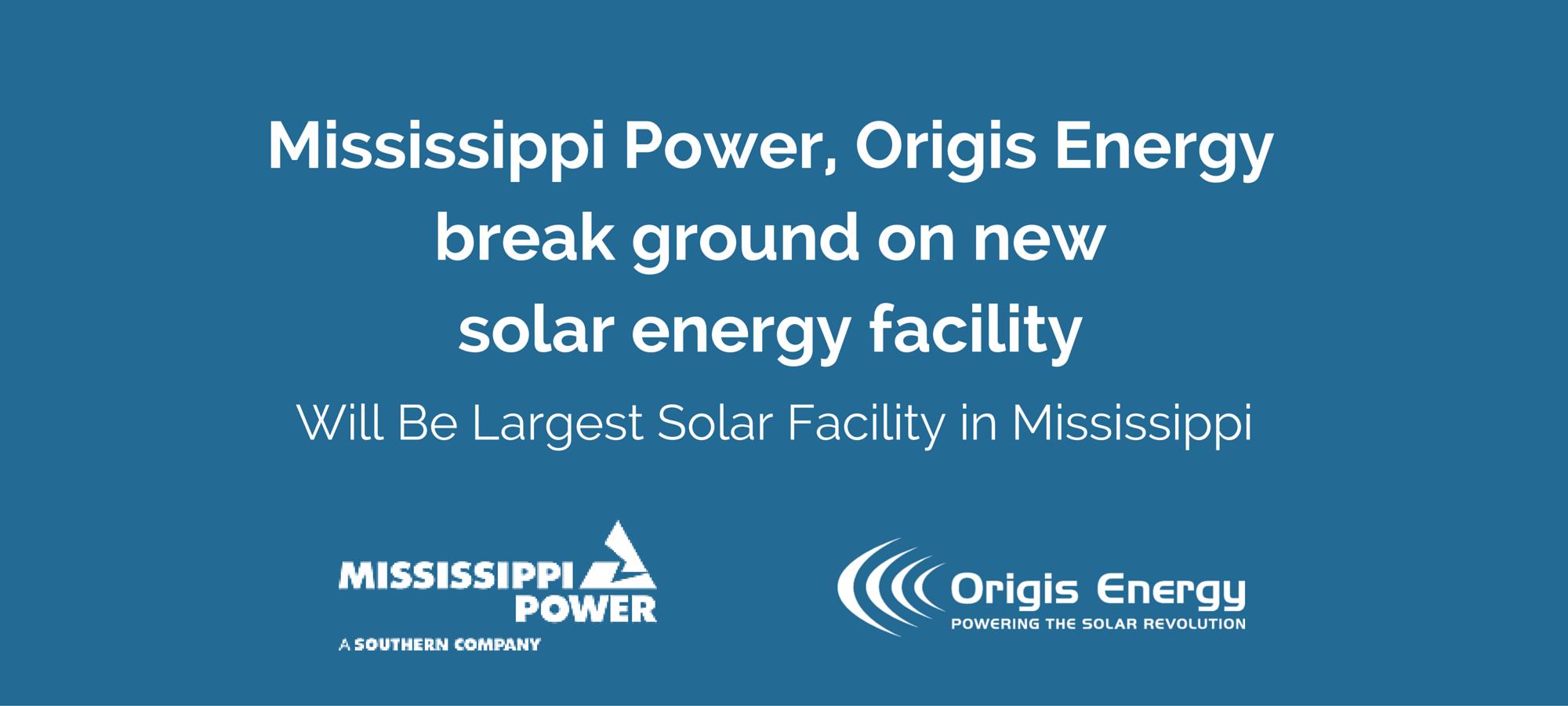 Mississippi Power Solar Energy Facility