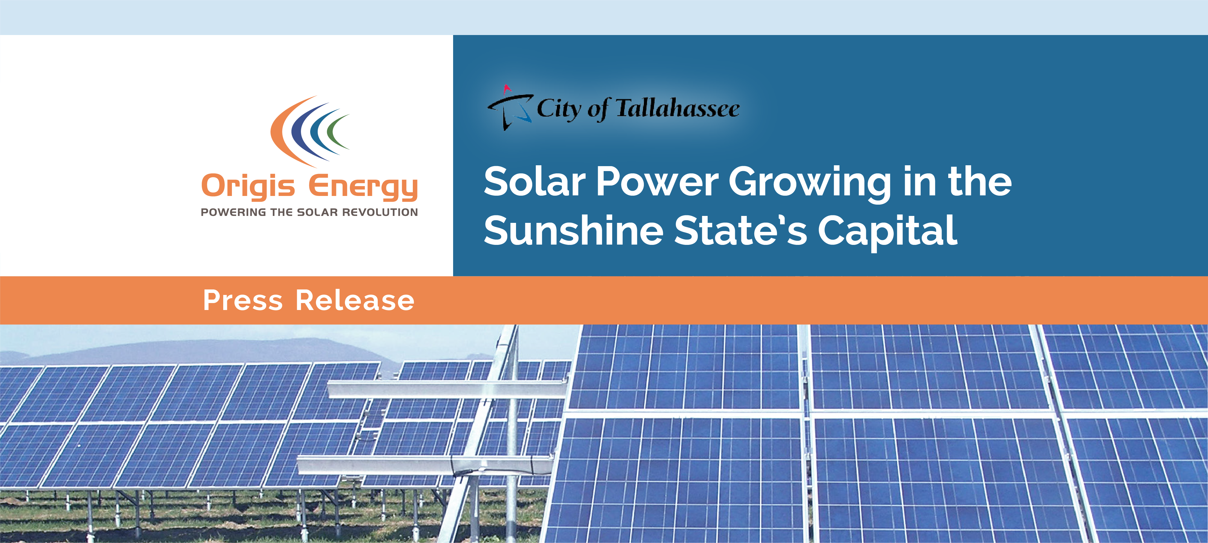 City Of Tallahassee Utility Solar Power Growing In The Sunshine States Capital