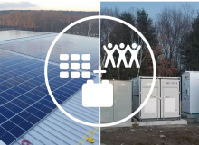 Sterling Community Solar plus Storage Project by Origis Energy USA
