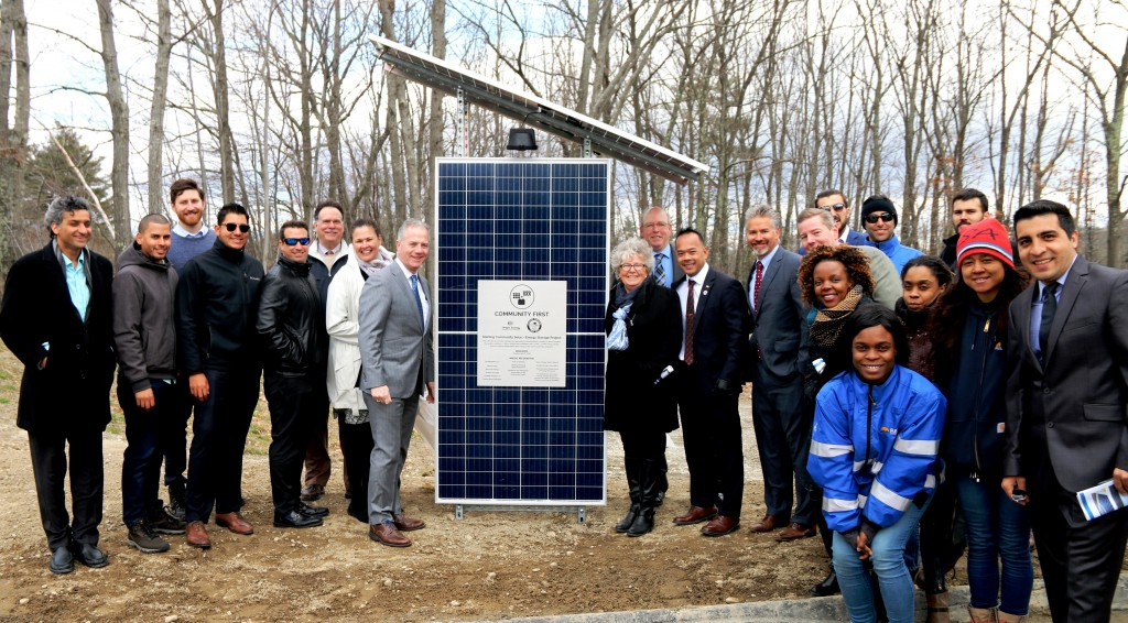 Sterling Solar Plus Storage Dedication April 17 2018 Origis Energy SMLD