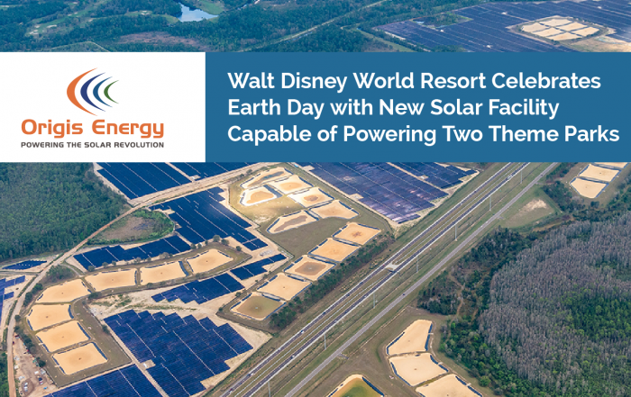 Origis Energy in the news | Walt Disney Resort new solar facility image