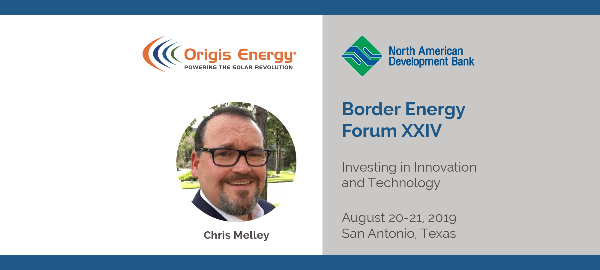 Origis Energy | Border Energy Forum XXIV | Chris Melley