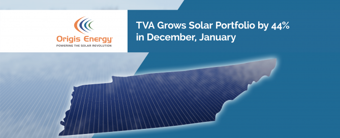 TVA Grows Solar Portfolio by 44% in December, January