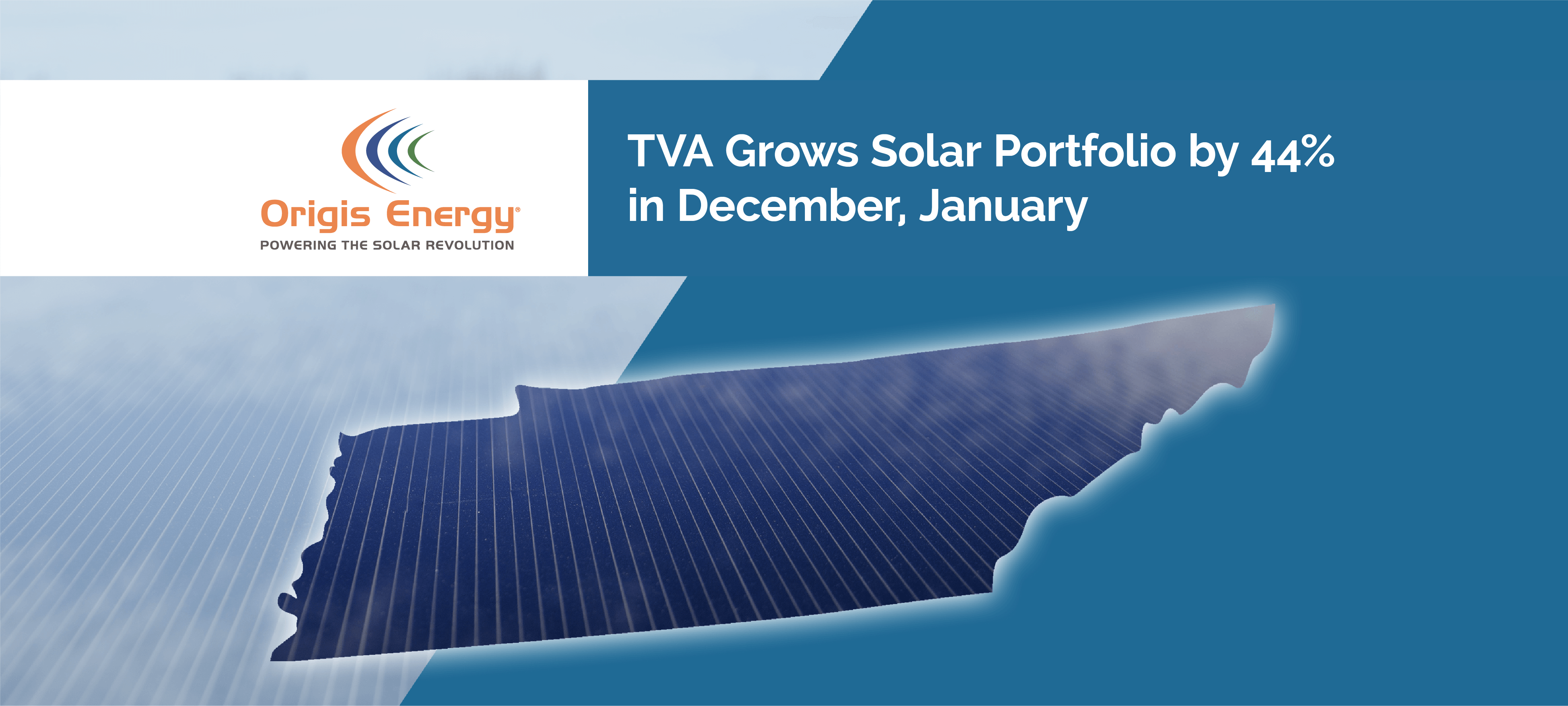TVA Grows Solar Portfolio by 44% in December, January