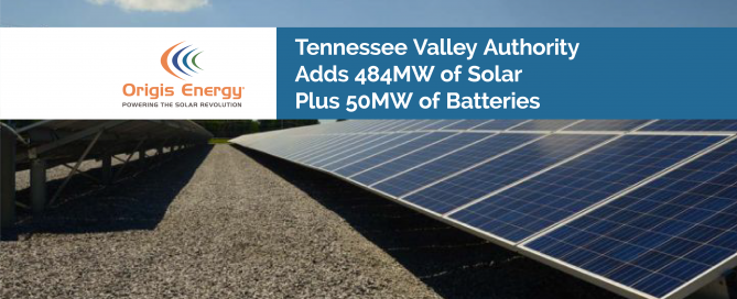 Tennessee Valley Authority adds solar